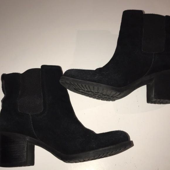 9e33daeda5bd0 Sam Edelman Shoes - Sam Edelman Black Suede Sz 8 Cowboy Boots Elastic